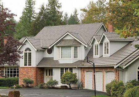 Residential Metal Shingles Roof
