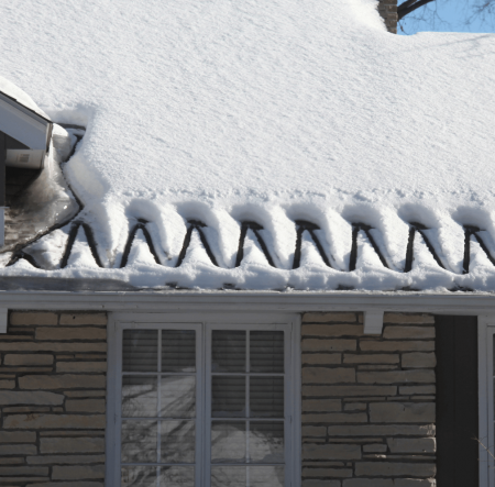 How To Fight Ice Damming Best Roof Deicing