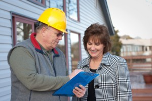Signing a Roofing Contract