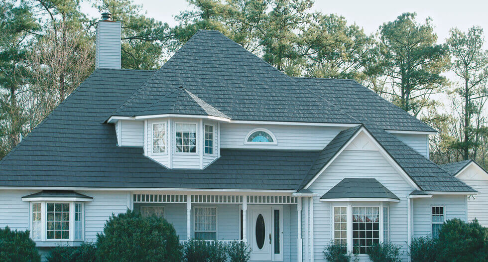 Slate Metal Shingles Roof By Tamko