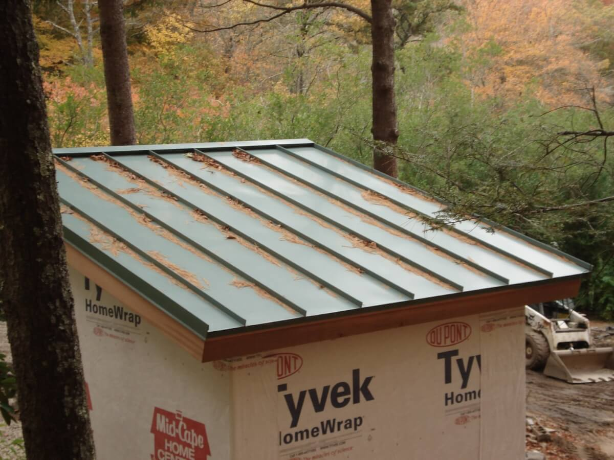 Standing Seam Metal Roof Shed Roofcalc Org