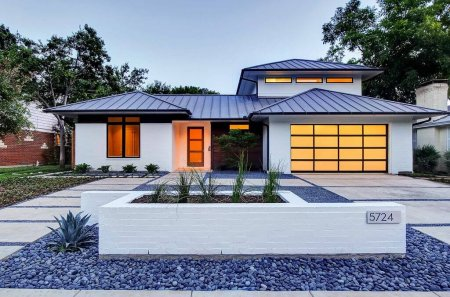 Standing Seam Metal Roof On A Modern Home Roofcalc Org