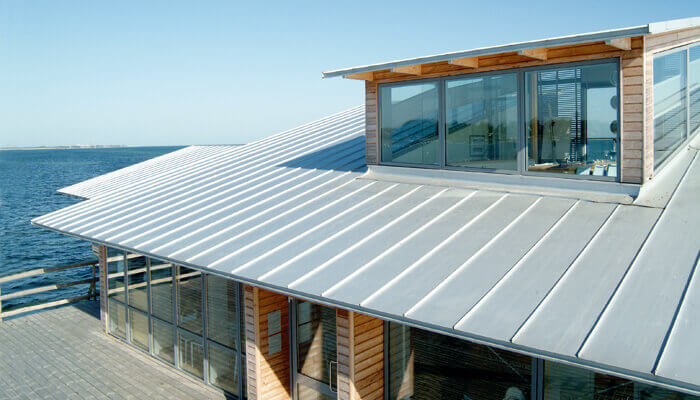 Standing Seam Roof Color - Bare Metal