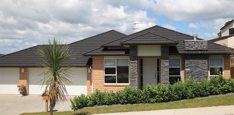 stone coated metal roof tile cost design options advantages. Black Bedroom Furniture Sets. Home Design Ideas