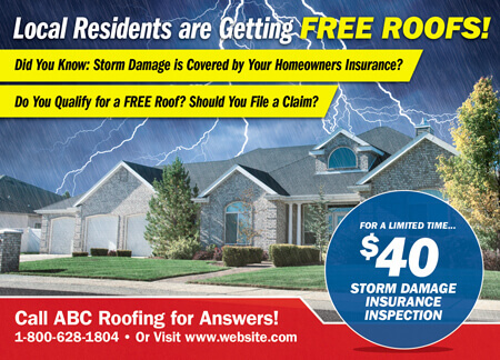 Storm Chase Roofers Ads