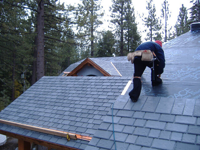 5 reasons to install a faux slate roof for Davinci roof cost