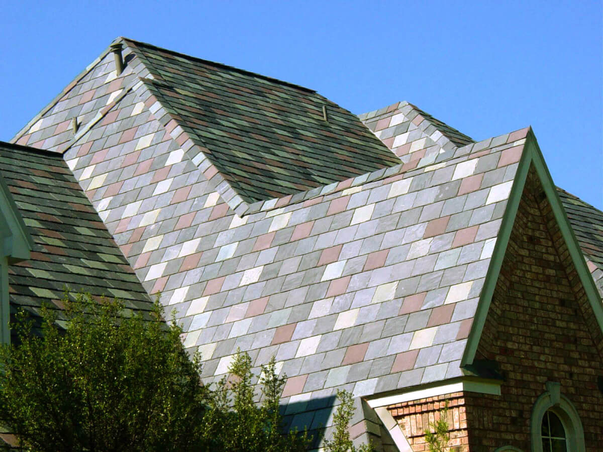 Synthetic Slate Roofing - Symphony Slate by CertainTeed