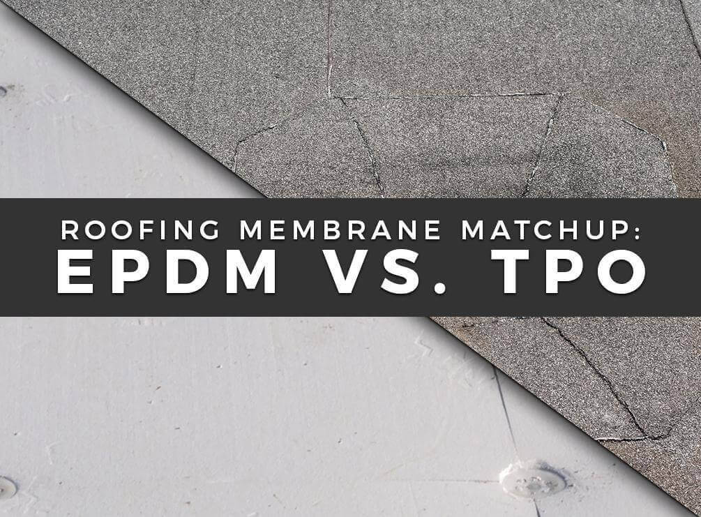 TPO vs. EPDM rubber