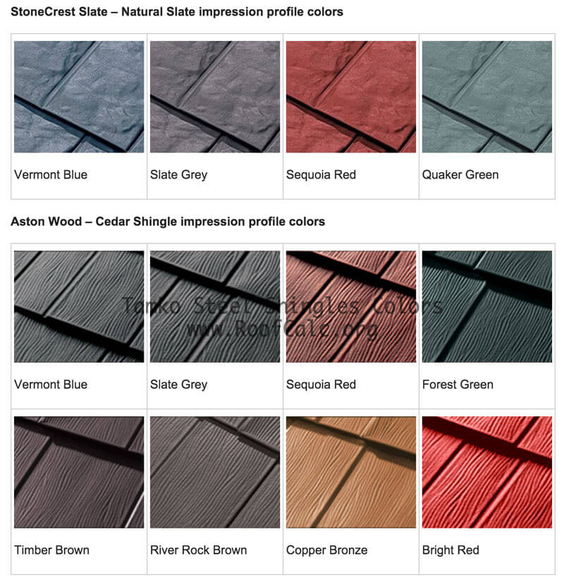 Metal Siding Colors : Metal roof colors how to pick the right color for your