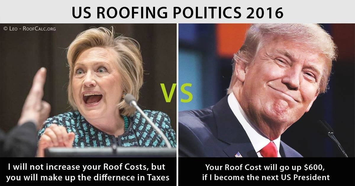 US Roofing Politics 2016
